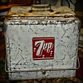 7 Up Vintage Cooler by Paul Ward
