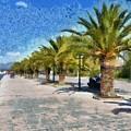 Walkway In Nafplio Town by George Atsametakis