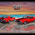 70 Chevell Ss 454 by John Breen