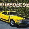 70 Mustang Boss by Charles Vaughn