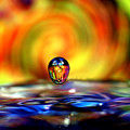 70's Water Drop by Don Keisling