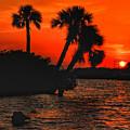 75 Island Sunset by Allen Williamson