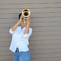 Jazz Musician. by Oscar Williams