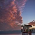 7826- Miami Beach Sunrise by David Lange