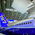 787 Tail Section by Rick Bragan