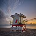 7898- Miami Beach Sunrise by David Lange