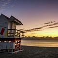 7901- Miami Beach Sunrise by David Lange