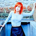 79361 Hayley Williams Paramore Women Singer Redhead by Rose Lynn