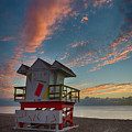7944- Miami Beach Sunrise by David Lange