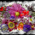 7e Abstract Floral Painting Digital Expressionism by Ricardos Creations