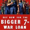 7th War Loan - Ww2 by War Is Hell Store