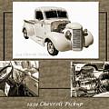 1939 Chevrolet Pickup Vintage Car Fine Art Prints Photograph Ant by M K Miller
