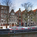 Channels Of Amsterdam by Andre Goncalves