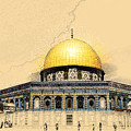 Dome Of The Rock by Shay Levy