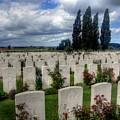 Flanders Fields Belgium by Paul James Bannerman