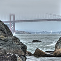 Golden Gate Bridge by Jayasimha Nuggehalli