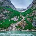 Inside Passage Mountain Views Around Ketchikan Alaska by Alex Grichenko