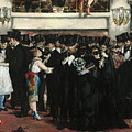 Masked Ball At The Opera by Edouard Manet