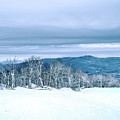 North Carolina Sugar Mountain Skiing Resort Destination by Alex Grichenko