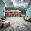 Port Of Skagway Alaska Near White Pass British Columbia Canada by Alex Grichenko