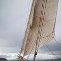 Rigg Of A Tall Ship by Hartmut Albert
