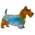 Scottish Terrier by Steph J Marten