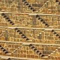 Steps At Chand Baori by Nila Newsom