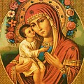 Virgin And Child Painting Art by Carol Jackson