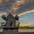 8003- Miami Beach Sunrise by David Lange