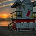 8097- Miami Beach Sunrise by David Lange
