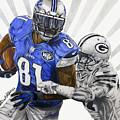 #81 Calvin Johnson by Chris Volpe