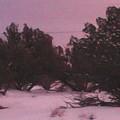 Snowy Desert Landscape by Frederick Holiday