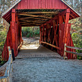 8350- Campbell's Covered Bridge by David Lange