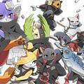85420 Naruto Shippuuden Manga Anime Akatsuki Konan Zetsu Uchiha Itachi Hoshigaki Kisame Kakuzu Cat Pein Deidara Tobi by Rose Lynn