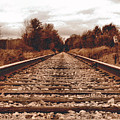 86ed On The Tracks by September  Stone