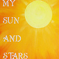 8x10 My Sun And Stars by Michelle Eshleman