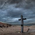 9/11 Memorial In Breezy Point New York by Mike  Deutsch
