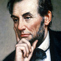 Abraham Lincoln 16th American President by Photo Researchers