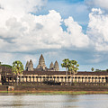 Angkor Wat In Cambodia by Didier Marti