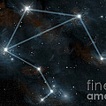 Artists Depiction Of The Constellation by Marc Ward