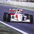 Ayrton Senna by Jose Bispo