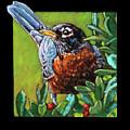 Birdman Of Alcatraz Detail by John Lautermilch