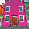 Burano Venice Italy by Paul James Bannerman