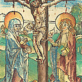 Christ On The Cross by German 15th Century