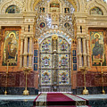 Church Of The Savior On Spilled Blood  by Vladi Alon