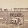 Execution Of The Conspirators by Alexander Gardner