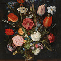 Flower Vase by Jan Brueghel the Elder