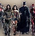 Justice League by Anna J Davis