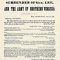 Lees Surrender, 1865 by Granger