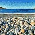 Livada Beach  by George Atsametakis